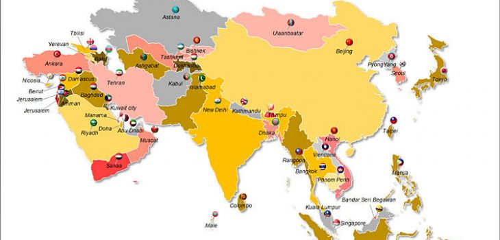 Negara Benua Asia