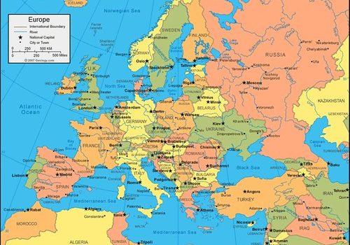 Negara Benua Eropa